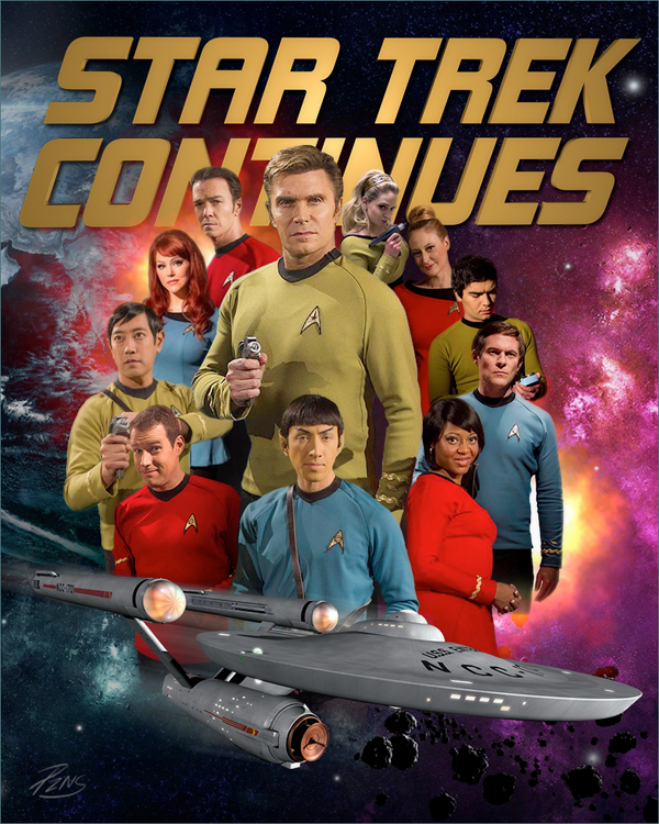 STAR TREK CONTINUES answers some questions from fans about their ...