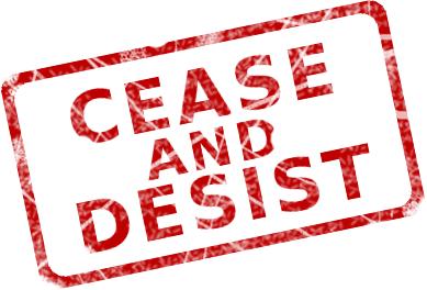 "Star Trek Dr Seuss ""Mash Up"" creators received a CEASE & DESIST"