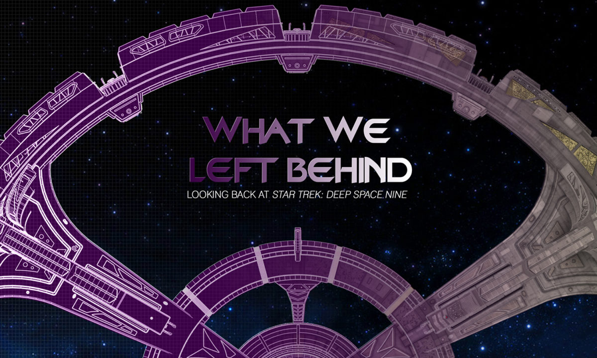 Deep Space 9 documentary WHAT WE LEFT BEHIND gets picked up by SHOUT!