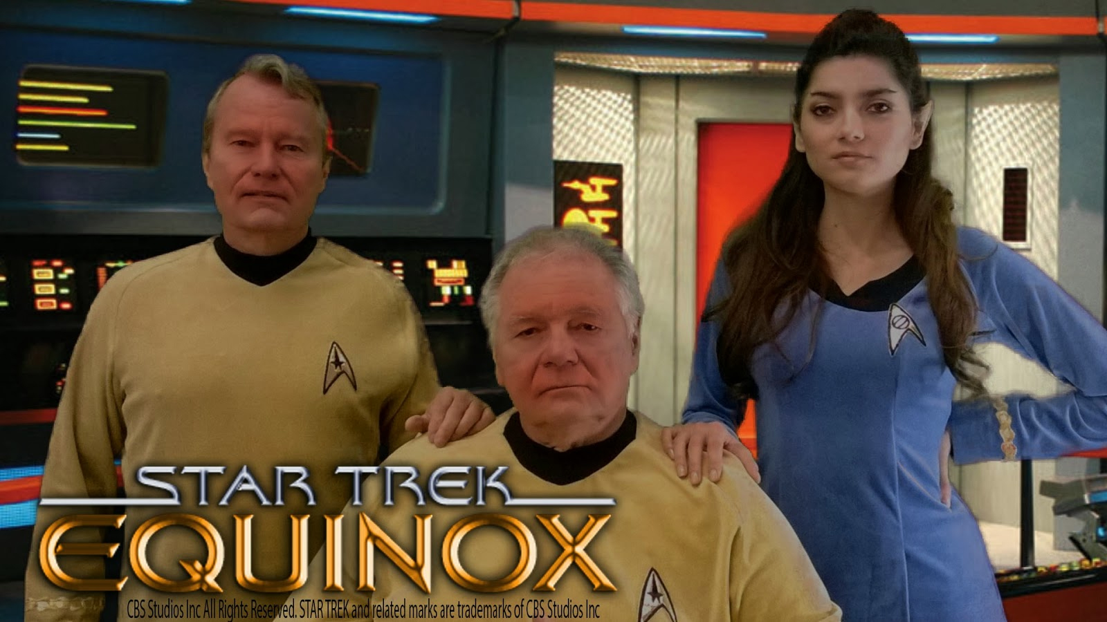 """THE FEDERATION FILES """"rescues"""" the abandoned STAR TREK: EQUINOX fan film!  (audio interview with KELLY & DAN REYNOLDS and GLEN WOLFE)"""