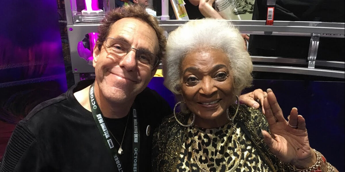 "NICHELLE NICHOLS and other Trek/sci-fi celebs sign onto the virus-safe SPACE COMMAND: ""RIPPLE EFFECT""!"